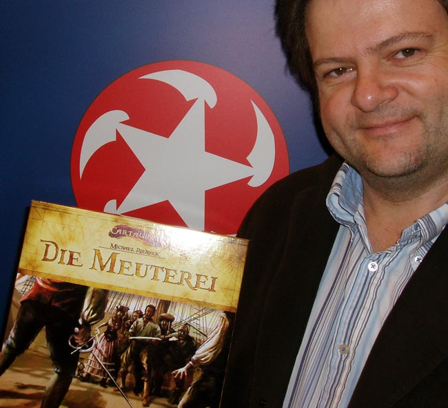 Michael Rieneck gefiel die Idee, die Geschichte der Cartagena-Piraten in einer Spielereihe weiter zu erzählen, auf Anhieb. Foto: Winning Moves