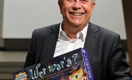 """Karsten Schmidt, Vorstandssprecher Ravensburger: """"Die Verbindung Brettspiel mit Elektronik - wie zum Beispiel bei Wer war's - ist ein viel versprechender Weg. Foto: Ravensburger"""