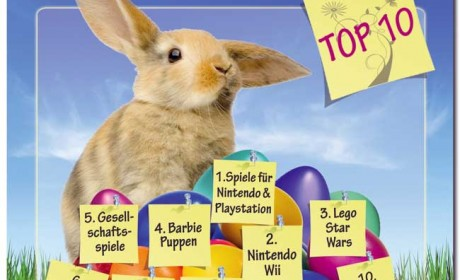 Der Osterhase brachte 2010 deutlich mehr Brettspiele als im Vorjahr. Grafik: shopping.de