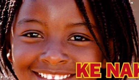 """Ke Nako bedeutet in der Sotho-Sprache """"Es ist Zeit"""" - zum Beispiel dafür, um aktiv gegen Aids in Afrika zu kämpfen. Foto: Stars of Tomorrow."""