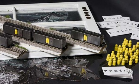 Das Brettspiel Train von Brenda Brathwaite thematisiert den Holocaust und irritiert damit die Spieler. Foto: Buzzpuzzle/Creative Commons Attribution-Share Alike 3.0 Unported