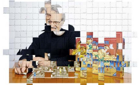 """Prof. Max J. Kobbert war von 1978 bis 2009 Professor für Kunstdidaktik und Psychologie an den Kunstakademien Düsseldorf und Münster. Er ist Gründungsmitglied der Spiele-Autoren-Zunft (SAZ) und seit 2010 Vertreter der SAZ im Deutschen Kulturrat. Sein größter Erfolg als Spieleautor ist das Spiel """"Das verrückte Labyrinth """". Foto: Ravensburger. Montage: Sebastian Wenzel"""