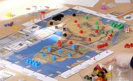 Das Spiel Afrika 1830 von Alexander Pfister.