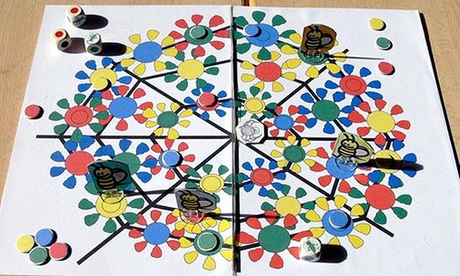 Das Spiel Bienchen Bande von Carsten Schauf. Foto: Hippodice Spieleclub e.V.