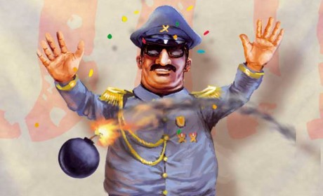 Pegasus Spiele veröffentlichte 2007 eine Neuauflage des Brettspiels Juntas. Darin schlüpfen die Spieler in die Rolle des Präsidenten und von Kabinettsmitgliedern. Je nachdem wie zufrieden sie mit der Regierung sind, können sie diese stützen oder stürzen. Die politische Wirklichkeit lässt grüßen. Foto: Pegasus