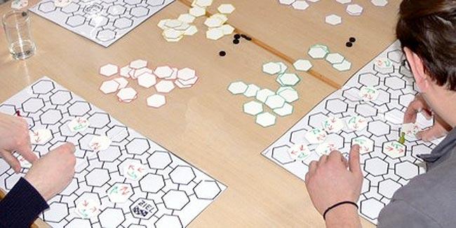 Das Spiel Hexa Maxima von Robert Schuppe. Foto: Hippodice Spieleclub e.V.
