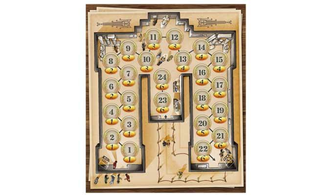 Das Brettspiel Pergamon. Grafik: Klemens Franz