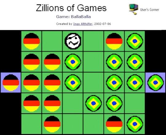 BallaBalla-Screenshot von der Zillions-Download-Seite.