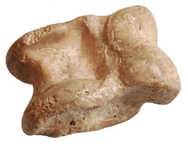 Astragal (Fußwurzelknochen eines Rindes als Würfel), Türkei, 400 v. - 400 n. Chr. Foto/Sammlung: M. J. Kobbert