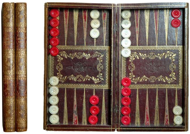 Backgammon. Foto/Sammlung: M. J. Kobbert