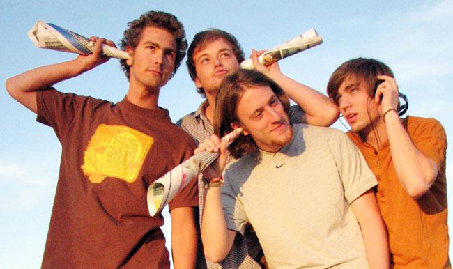 Die Macher von belauscht.de sind von links nach rechts: Felix Anschütz, Krischan Dietmaier, Thomas Neumann und Nico Degenkolb. Foto: Privat