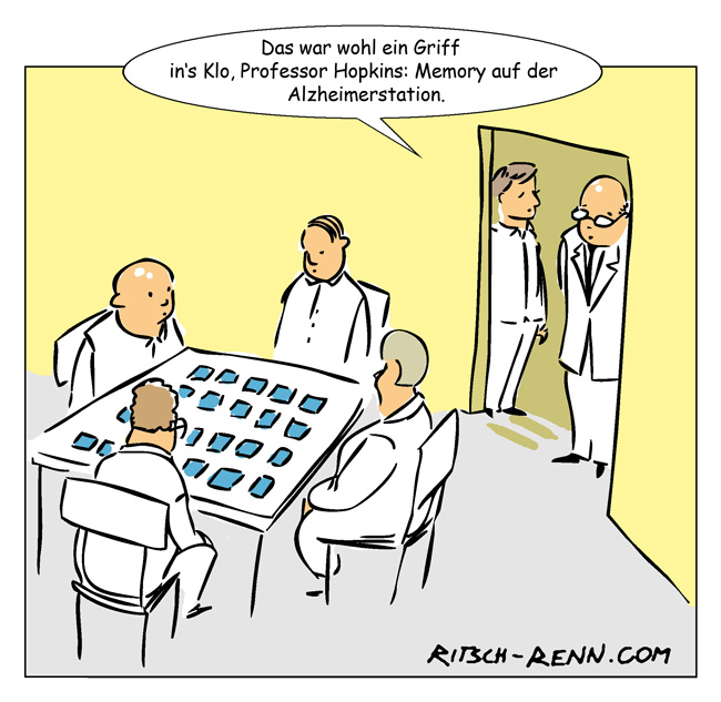 Kartenspiel Comic