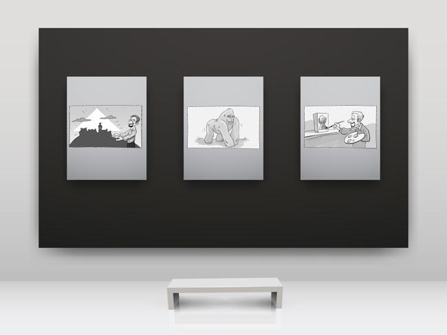 Zeichnungen: Michael Menzel. Hintergrund: avian, fotolia.de. Montage: Sebastian Wenzel