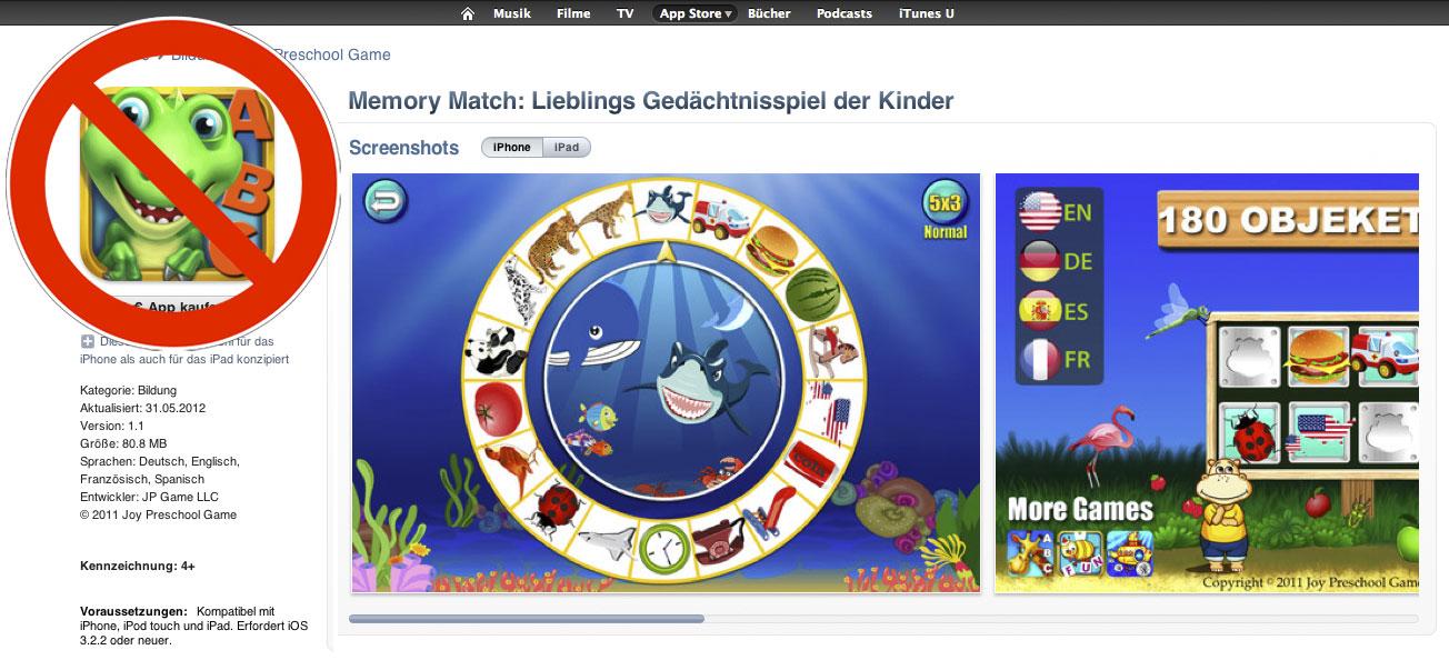 Fotos: Torsten Henning, Joy Preschool Game. Montage: Sebastian Wenzel